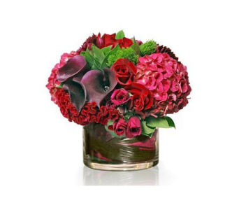 VALENTINE HEART BOUQUET in Bellevue WA, CITY FLOWERS, INC.