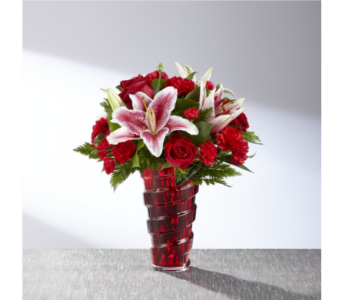Lasting Romance Bouquet in Noblesville IN, Adrienes Flowers & Gifts