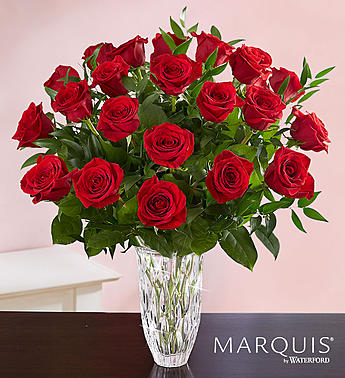 Marquis by Waterford  Premium Long Stem Red Roses in Round Rock TX, Heart & Home Flowers