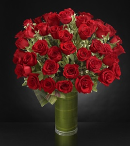 Fate Luxury Rose Bouquet - 48 Stems of 24-inch Pre in Sapulpa OK, Neal & Jean's Flowers & Gifts, Inc.