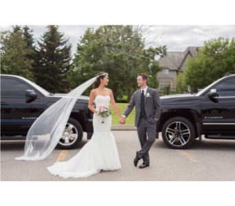 Dumont/Sanftenberg Wedding in Ajax ON, Reed's Florist Ltd