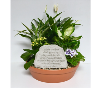 Those We Love Stone Dish Garden - 14 inch Planter in Wyoming MI, Wyoming Stuyvesant Floral