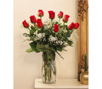 Dozen Roses Arranged in Winchester VA, Flowers By Snellings