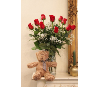 Roses & Bear in Winchester VA, Flowers By Snellings
