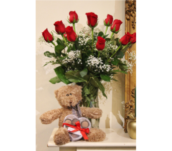 Roses   Truffles   Bear in Winchester VA, Flowers By Snellings