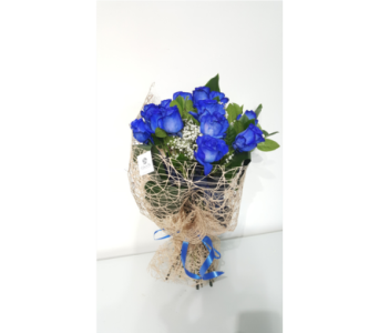 BOUQUET OF BLUE MAGIC in Laval QC, La Grace des Fleurs