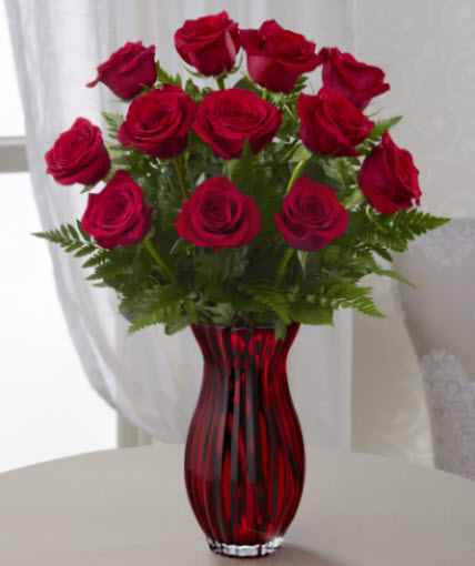 In Love with Red Roses in Waterford MI, Bella Florist and Gifts