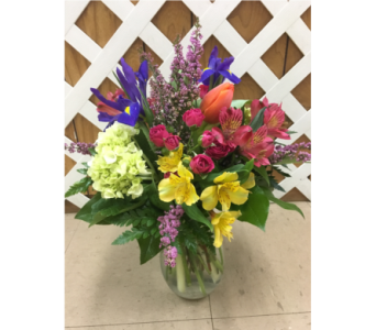 Designers choice Spring Mix in Purcellville VA, Purcellville Florist