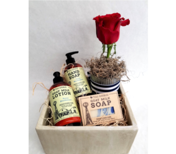 Lotion & Soap Gift Box in Kerrville TX, Especially Yours