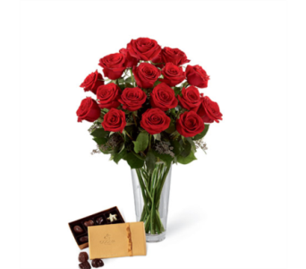 Traditional Rose Package in Lafayette CO, Lafayette Florist, Gift shop & Garden Center