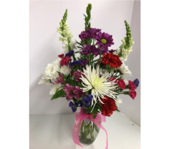 Lasting Romance Bouquet in Geneva NY, Don's Own Flower Shop