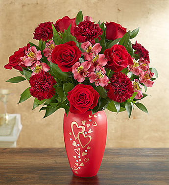 Valentines day flowers delivery colorado springs co sandys follow your heart bouquet in colorado springs co sandys flowers gifts mightylinksfo