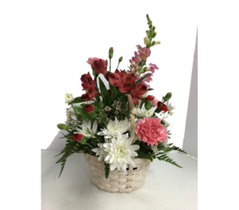 Basket of Love Bouquet in Geneva NY, Don's Own Flower Shop