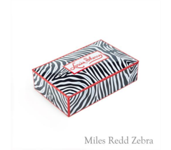 Miles Redd Zebra 12 piece Tin in Oklahoma City OK, Trochta's
