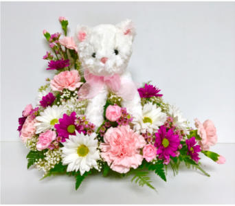 So Purr-fect Floral Arrangement in Wyoming MI, Wyoming Stuyvesant Floral