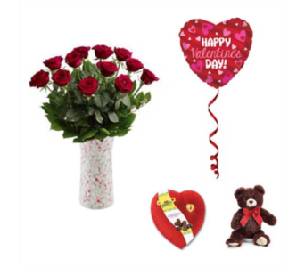 You Hold the Key to My Heart Bundle in Oviedo FL, Oviedo Florist