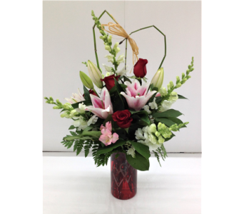 Romantic Duo Bouquet in Smyrna GA, Floral Creations Florist