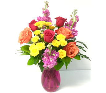 Bright & Cheerful in Northfield MN, Forget-Me-Not Florist