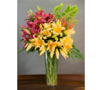 Extravagant Lilies in Gaithersburg MD, Flowers World Wide Floral Designs Magellans