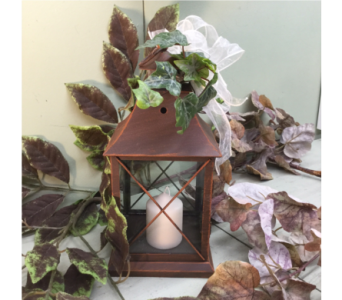 Brown Metal Lantern, 12