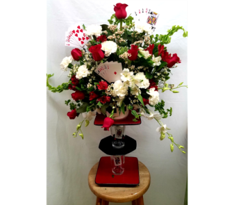 Full House Arrangement in Columbia TN, Douglas White Florists
