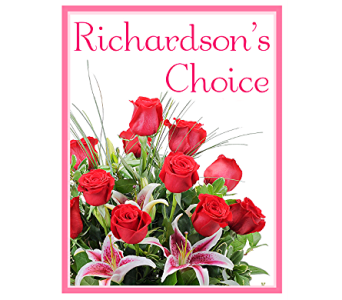 Richardson's Choice in Bel Air MD, Richardson's Flowers & Gifts