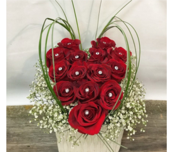 Be My Valentine in Vermilion AB, Fantasy Flowers