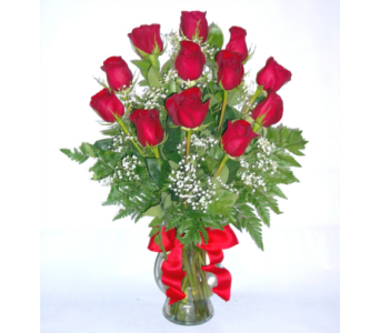 Classic Long-Stem Dozen Roses in Bend OR, All Occasion Flowers & Gifts