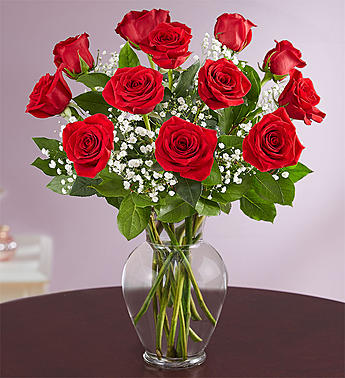 Rose Elegance  Premium Long Stem Red Roses in Round Rock TX, Heart & Home Flowers