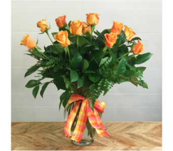 Premium Orange Roses by Ferrari in Santa Cruz CA, Ferrari Florist