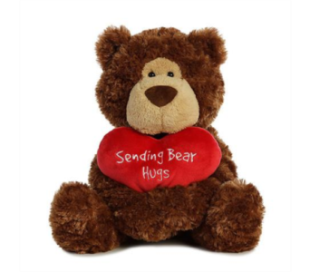 Sending Hugs Bear in Alliston, New Tecumseth ON, Bern's Flowers & Gifts