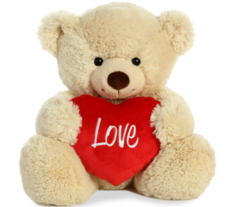 I Love You bear in Alliston, New Tecumseth ON, Bern's Flowers & Gifts