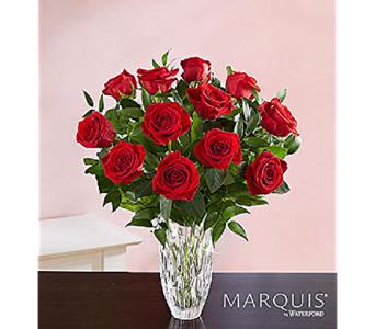 Marquis by Waterford - Premium Dz. Red Roses in Mission Viejo CA, Conroy's Flowers