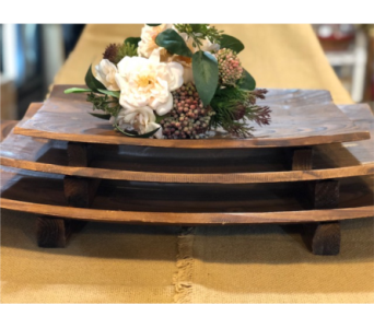 3 Wooden Trays 24� 20� and 16� in Loudonville OH, Four Seasons Flowers & Gifts