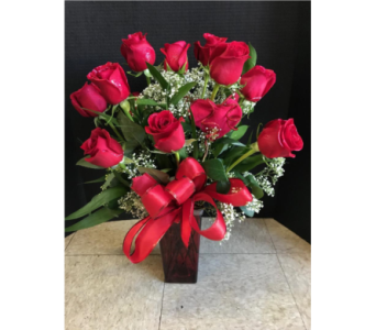 12 RED ROSE  in Manassas VA, Flowers With Passion