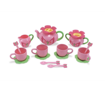 Bella Butterfly Pretend Play Tea Set in Muskegon MI, Barry's Flower Shop