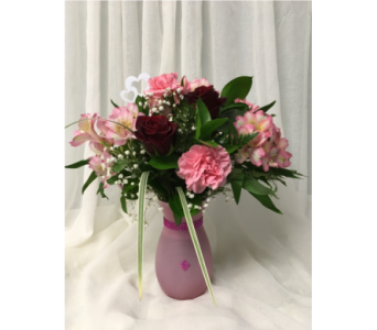Pink Inspiration in Grand-Sault/Grand Falls NB, Centre Floral de Grand-Sault Ltee