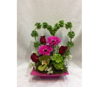 Heart Beats For You in Kingston NY, Flowers by Maria