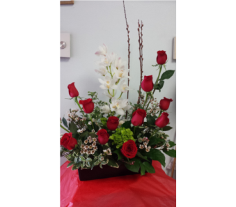 orchids and roses in North York ON, Ivy Leaf Designs