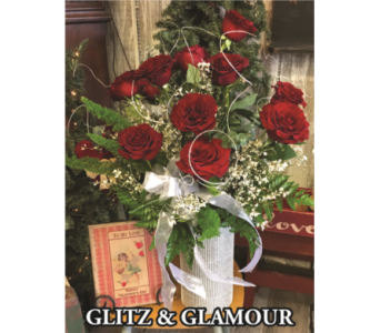 Glitz & Glamour Bouquet in Waynesburg PA, The Perfect Arrangement Inc