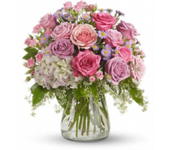 Pastel Romance in Big Rapids MI, Patterson's Flowers, Inc.