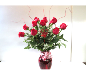 Premium Red Roses in Worcester MA, Holmes Shusas Florists, Inc