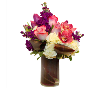 Purple Flirtation in Seattle WA, Topper's European Floral Design