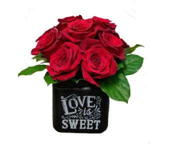 Love is Sweet with Roses in Ottawa ON, The Fresh Flower Company