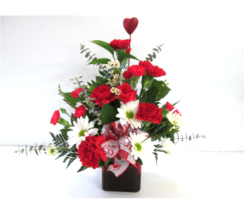 Cupid Cube in Worcester MA, Holmes Shusas Florists, Inc