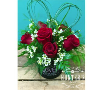 LOVE18 in Reynoldsburg OH, Hunter's Florist