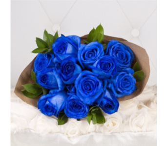 Blue Roses in Markham ON, Metro Florist Inc.