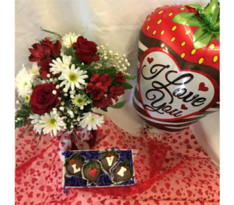 2018 Valentine's Day Special 2 in Mount Vernon OH, Williams Flower Shop