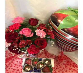 2018 Valentine's Day Special 3 in Mount Vernon OH, Williams Flower Shop