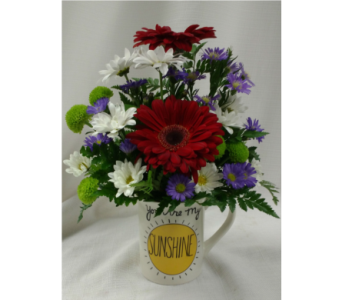You Are My Sunshine in Belleville ON, Barber's Flowers Ltd